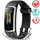 FITFORT Fitness Tracker HR Activity Tracker Watch - IP68 Water Resistant Smart Bracelet