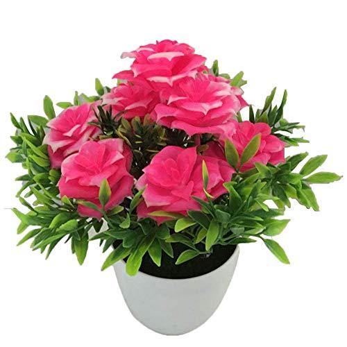MARJON Flowers Flores Artificiales de marjón, 1 Maceta de Flores Artificiales para Bodas, Fiestas de Novia, Bricolaje, decoración de arreglos Florales
