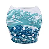 Product Image of the babygoal Reusable Swim Diaper, Washable Swimsuits for Babies 0-2 Years, Swimming...