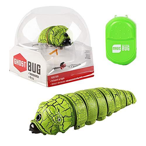 MMLC RC Ferngesteuerte Insekt Caterpillar Spielzeug Geschenk Für Kinder (Green)