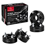 YITAMOTOR Wheel Spacers for Jeep JK 5x5, 1.5 inches Forged Hubcentric Wheel Adapters for 2007-2017 Jeep Wrangler JK JKU, 1999-2010 Grand Cherokee WJ WK, 2005-2010 Commander XK