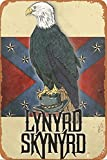 No/Brand Lynyrd Skynyrd Eagle Metall Blechschild Retro