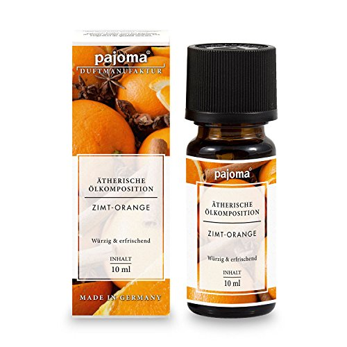 "Ätherisches Duftöl ""Zimt-Orange"", 10 ml, 100% naturrein von pajoma"