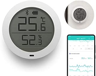 FOONEE Digital Hygrometer Indoor Thermometer, for Xiaomi Mijia Bluetooth Temperature Humidity Sensor with LCD Screen-Remote View on Mi Home APP
