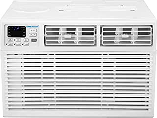 Emerson Quiet Kool EARC15RE1 15,000 BTU 115V Window Air Conditioner with Remote Control, White