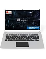 GLM 超軽量 PC ノートパソコン 日本語キーボート Microsoft Office 2010 / Windows 10 / INTEL x5-Z8350 / WIFI / USB3.0 / HDMI / WEBカメラ / 14.1インチ / SSD64GB / メモリ4GB