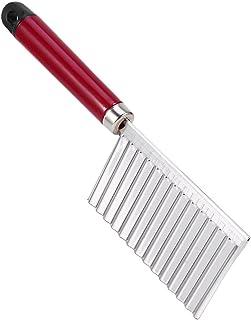 Cortador de arrugas multifunción patata ondulada cortador de acero inoxidable fruta corte de verduras accesorios de herramientas de cocina