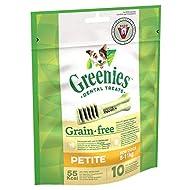 Greenies Daily Grain-Free Petite Dog Treats (from 8-11 kg) – The Smart Dental Treat – 6 x 170 g - 60...