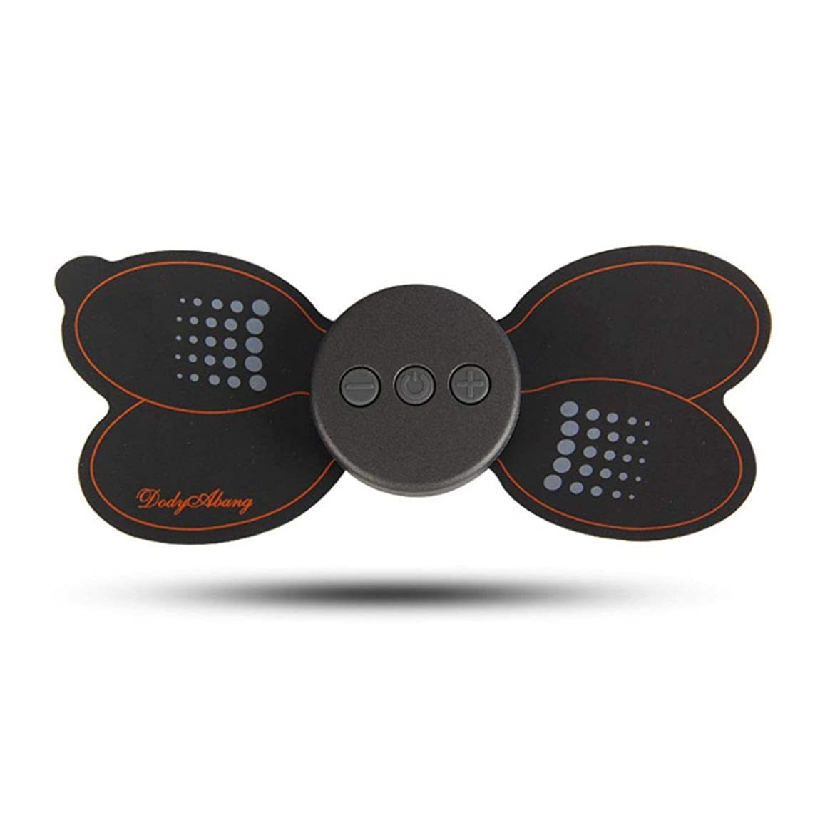 委託短命皮肉なマッサージ頚椎マッサージ器のパルスマッサージマッサージ快適なポータブル多機能ミニポータブルショルダー -体にリラックスします (色 : ブラック, サイズ : 15.5x6.5cm)