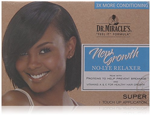 dr miracle's thermalceutical intensive no-lye relaxer - super