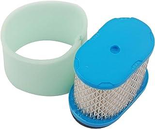 Filtro de repuesto Air Filter & Pre Filter Cleaner para Briggs & Stratton de Beehive Filter 498596 690610 697029 5059h 4207 30-033 John Deere ...