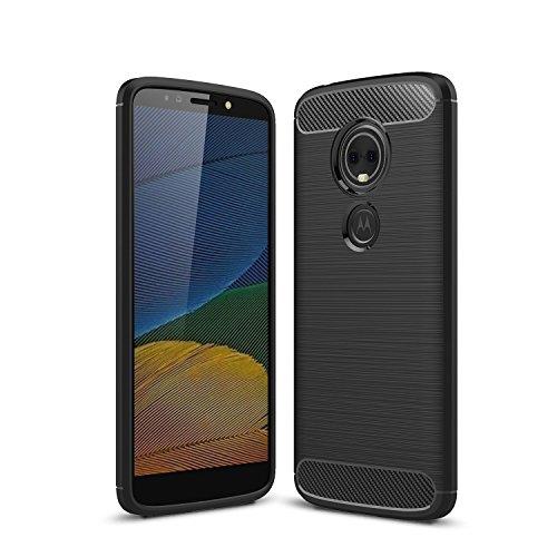 WindTeco Moto E5 Plus Hülle, Premium Ultra Slim Leicht weiches TPU Protector Phone Case Handy Schutzhülle Schale Bumper für Motorola Moto E5 Plus