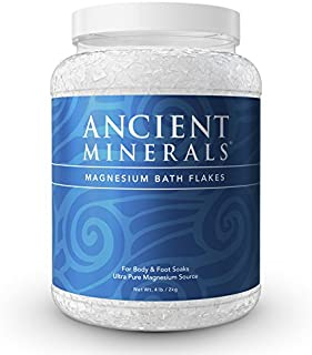 Sponsored Ad - Ancient Minerals Magnesium Bath Flakes of Pure Genuine Zechstein Chloride - Resealable Magnesium Supplement...