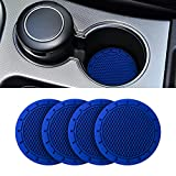 Car Cup Holder Coaster, 4 Pack 2.75 Inch...