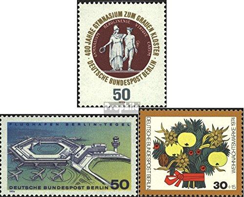 Berlijn (West) Mi.-Aantal.: 472,477,481 (compleet.Kwestie.) 1974 Klooster, Tegel, Kerstmis (Postzegels voor verzamelaars) luchtvaart