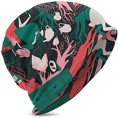 Forest House Lapin Arbres Unisexe Enfants Bonnet Casquettes Crâne Cap Mode Turban Bandeau Tricoté Chapeau De Ski pour Garçons Filles