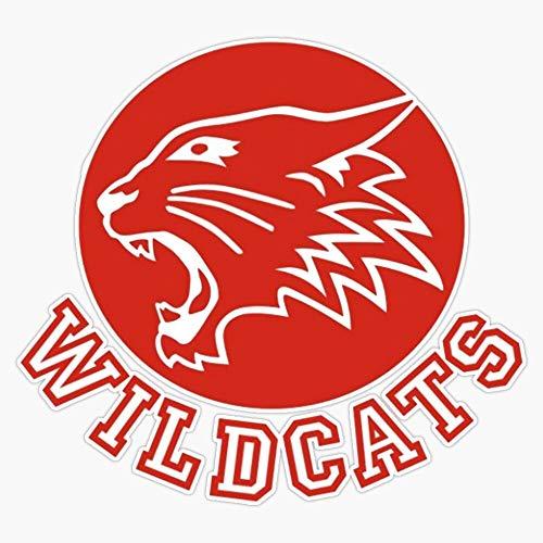 """Wildcats (High School Musical) Vinyl Waterproof Sticker Decal Car Laptop Wall Window Bumper Sticker 5"""""""