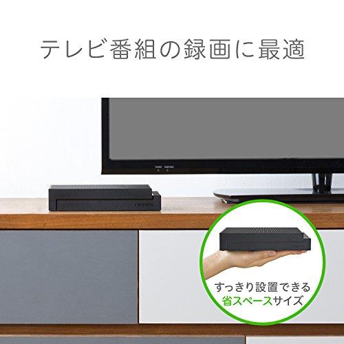 I-ODATA外付けHDDハードディスク4TBテレビ録画コンパクトPS4Mac故障予測日本製土日サポートHDCZ-UTL4K/E