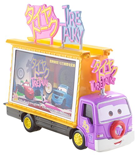 Disney Pixar Cars Diecast, Oversized Japanese TV Screen Truck
