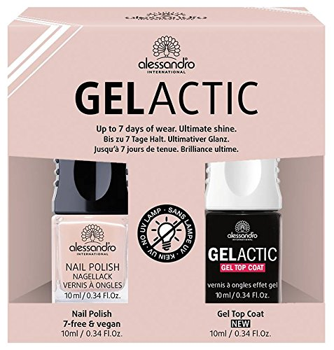 Alessandro gelactic Nail Set, Nude, 1er Pack (1 x 20 g)