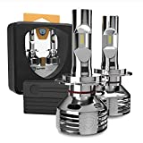 GPNE H7 LED Headlight Bulbs 76W 16000LM Extremely Bright High Low Beam 6000K Cool White LED Headlight Kit IP68 Rated, Pack of 2