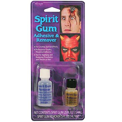 Spirit Gum Adhesive and Remover Costume Makeup