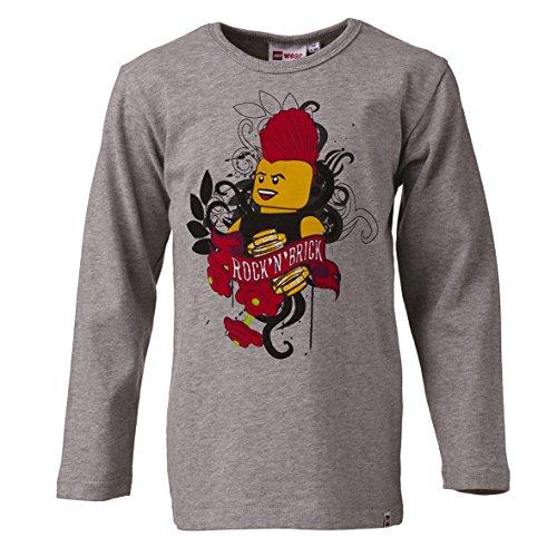LEGO 16279 - Camiseta de Pijama para Hombre, Color Grau (Grey Melange 915), Talla 5 años (110 cm)