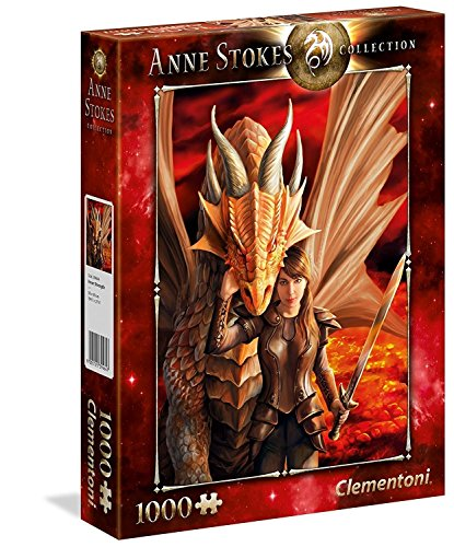 Clementoni- Puzzle 1000 Piezas Anne Stokes Inner Strenght (3