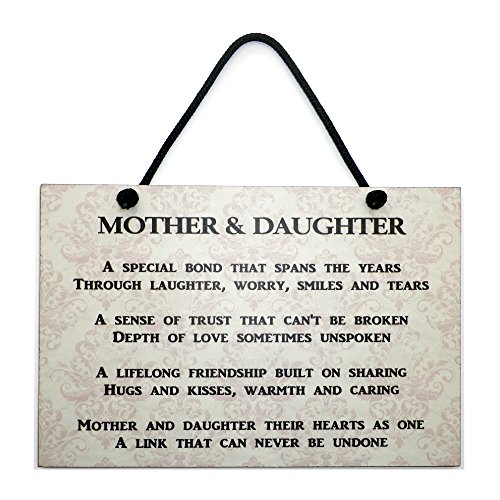 Maise & Rose Mother and Daughter Plaque Handmade Wooden Home Sign 172