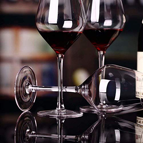 MYPNB Copas de Vino Vino Tinto Vasos de Cristal de Cristal C