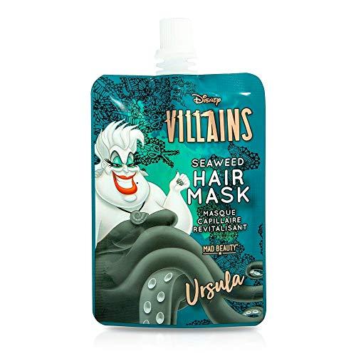 MAD Beauty Mascarilla Capilar Úrsula Villanas Disney, Úrsula Hair Mask, Translúcido, 0.66 Mililitro