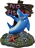 Blue Ribbon PET Products EE-380 Exotic Environments Cool Shark No Fishing Sign
