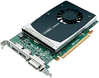 HP Tarjeta NVIDIA Quadro 2000 612952-002 616075-001 1GB GDDR5 PCI-e DVI 2X Display