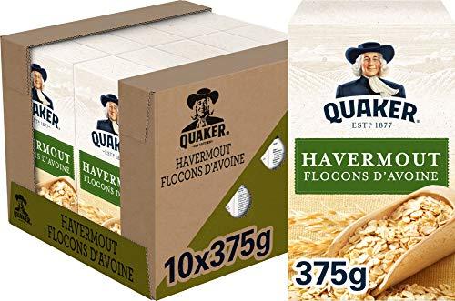 Quaker Havermout, Doos 10 stuks x 375 g
