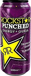 Rockstar Punched Guava Energy Drink 500 ml (Pack of 12) (B0048F3TU6) | Amazon price tracker / tracking, Amazon price history charts, Amazon price watches, Amazon price drop alerts