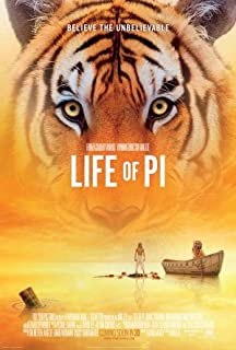 Life Of Pi Poster 24x36 Inches Suraj Sharma Irrfan Khan Tabu High Quality Gloss Print 115