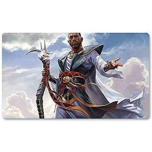 Teferi, Hero of Dominaria - Juego de Mesa MTG Playmat Table Mat Juegos de Alfombrillas Mousepad Play Mat para Yugioh Mon Magic The Gathering 30X80CM