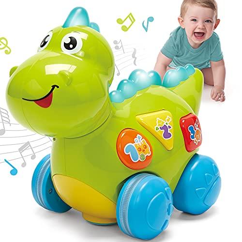CubicFun Dinosaurios Juguetes Bebes 1 a├▒o Juguetes Musicales con Luz Juguetes Cognitivos Educativos Tempranos Juguetes Bebe 6 Meses Juguetes para Ni├▒os 1 2 a├▒os