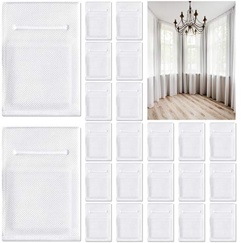 28 Pieces Drapery Weights Vinyl Covered Drapery Lead Weights Window Curtain Pendant Weights for Home Office Hotel Curtain, Drapery Sewing Supply
