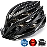 KINGBIKE Adult Bike Helmet Ultralight with Bicycle Helmets Portable...