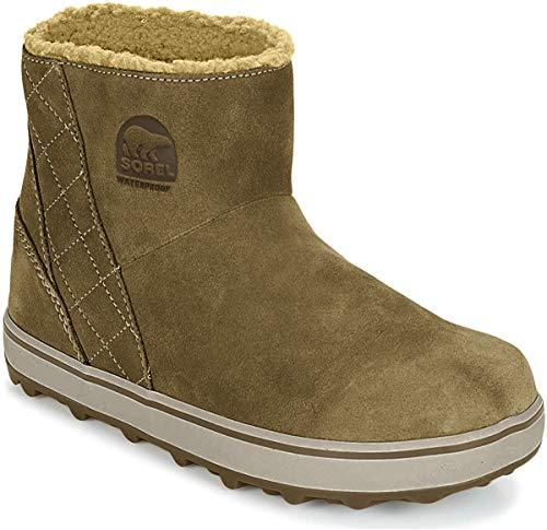 Sorel Damskie buty Glacy Short, Brązowy Delta jesienny brąz - 36 EU
