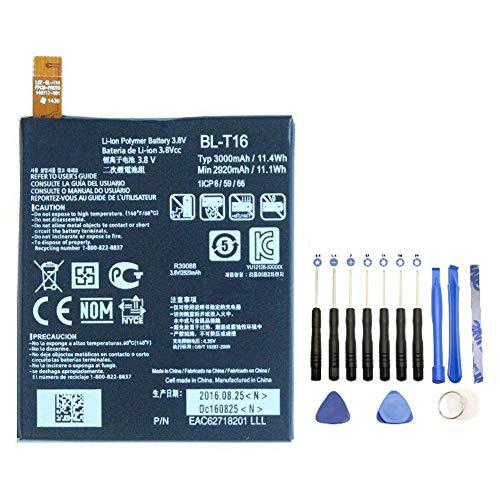 EspaceCyber® BL-T16 - Batería para LG G Flex 2 (incluye kit de herramientas de 13 piezas)