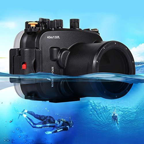PAN-EX Casos de Buceo 40m Caja de Buceo de Profundidad submarina Carcasa de la cámara a Prueba de Agua para Sony A7 / A7S / A7R