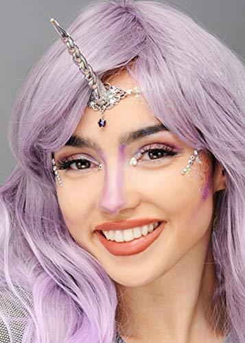 Womens Fantasy Unicorn Horn bandeau