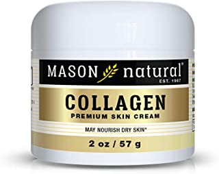 Mason Natural, Collagen Beauty Cream, Pear Scent, 2 Ounce Jar (Pack of 3), 100% Pure Collagen Anti-Aging Moisturizer, Prom...