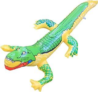 Toyvian Cocodrilo Inflable Juguetes Divertidos de Agua Cocodrilo Juguete Globo de cocodrilo para Piscina de Verano Juguetes para niños
