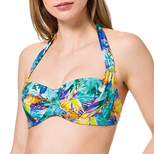 Aubade Tops De Bikini para Mujer - modelo: Fleur Tropicale Multicolor 85D