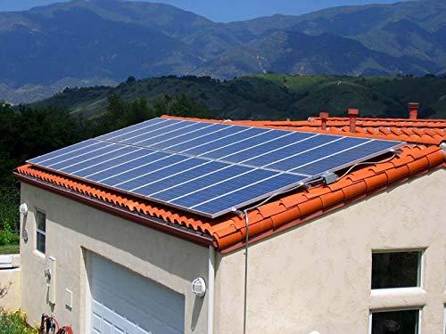 YAMEIJIA Panel fotovoltaico 20v 250w 4 Piezas 1KW Sistema de hogar Solar 1000w Kit de Garaje de casa de Barco Sol
