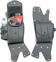 Saddlemen 3501-0715 Cruis'n Deluxe Saddlebag Guard Set