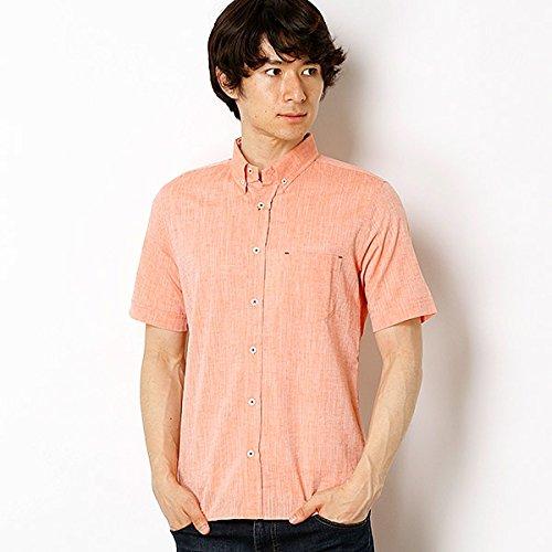 メンズメルローズ(MEN'S MELROSE) [WEB限定]CLムラ毛シャンブレーBDシャツ【03オレンジ/L(4)】